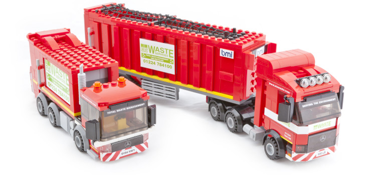 EIS Waste Launch Limited Edition Lego Sets