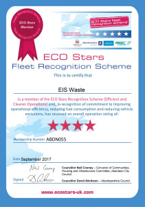EIS Waste_Aberdeen_City_Shire_Certificate_4Star