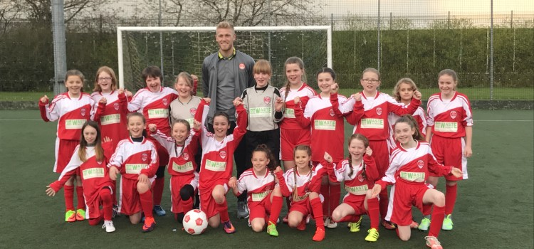 EIS LINK UP WITH ABERDEEN FC LADIES U11`s