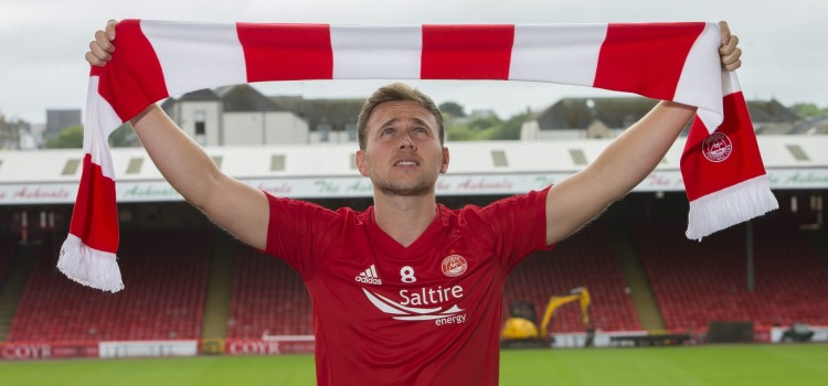 Sponsorship of Aberdeen F.C new signing Greg Stewart for the forthcoming season