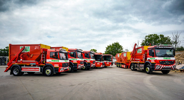 EIS Waste gears up with fuel-efficient Mercedes-Benz Econics