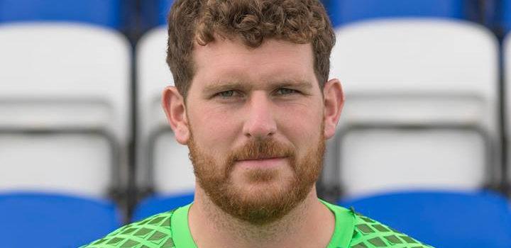 EIS Sponsor Cove Rangers Goalkeeper, Stuart McKenzie