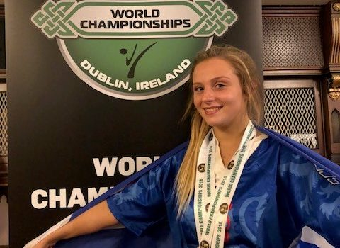 CHLOE WINS SILVER AND BRONZE FOR SCOTLAND