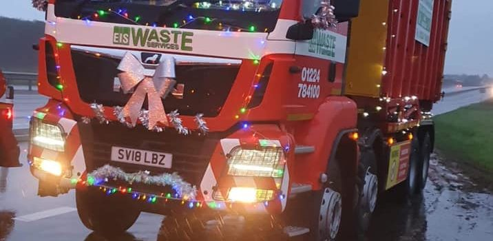 COUNTDOWN TO CHRISTMAS ARRIVES IN PETERHEAD