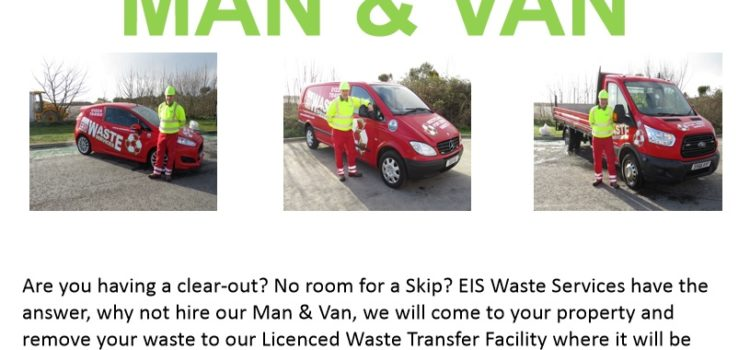 MAN & VAN COLLECTION SERVICE LAUNCHED